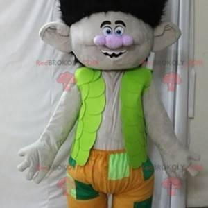 Maskot větev slavný kreslený troll - Redbrokoly.com