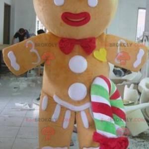 Mascot Ti Biscuit beroemd personage Shrek - Redbrokoly.com