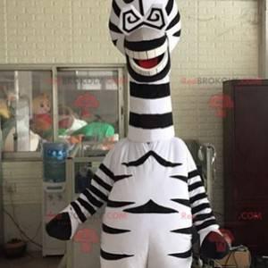 Marty Maskottchen berühmte Zebra aus Madagaskar Cartoon -