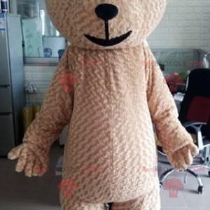 Velký měkký a roztomilý béžový maskot medvídka - Redbrokoly.com