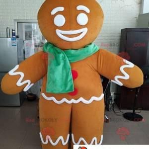 Mascot Ti Biscuit personaje famoso Shrek - Redbrokoly.com