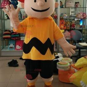Maskot Charlie Brown malý chlapec v komiksu Snoppy -