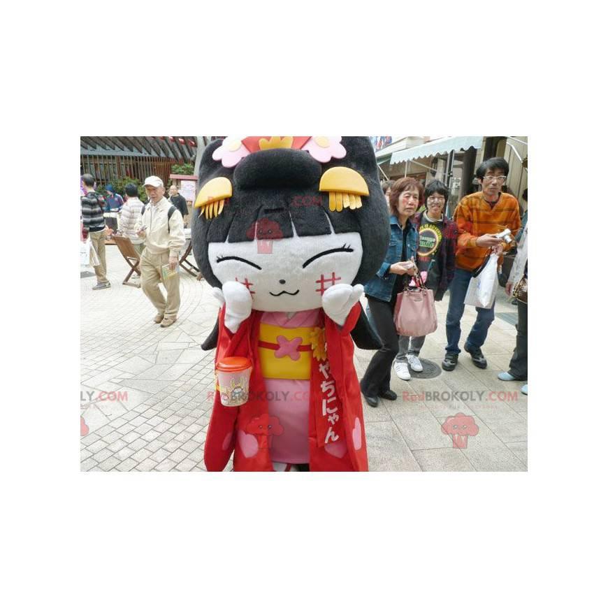 Čínská dívka maskot asijské ženy - Redbrokoly.com