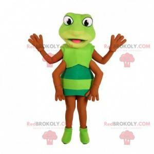 Grønn insekt gresshoppe cricket maskot - Redbrokoly.com