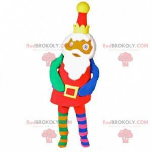Kolorowa lalka maskotka z koroną - Redbrokoly.com