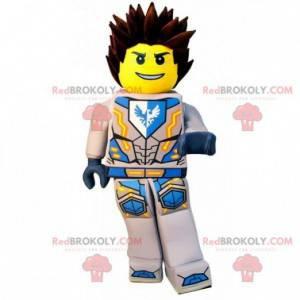 Lego-Maskottchen im Superhelden-Outfit - Redbrokoly.com