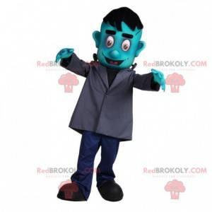 Frankestein monster mascot zombie mascot - Redbrokoly.com