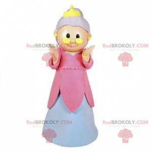 Fairy mascot. Mascot old lady with wings - Redbrokoly.com