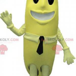 Obří žlutý banán maskot. Ovocný kostým - Redbrokoly.com