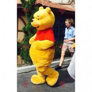 Winnie the Pooh mascotte famoso orso dei cartoni animati -