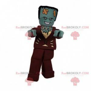 Frankestein monster zombie mascot - Redbrokoly.com