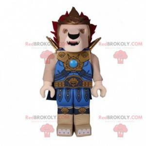Lego maskot v podobě lva s brněním - Redbrokoly.com