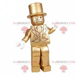 Bourgeois mascot elegant man with a suit - Redbrokoly.com