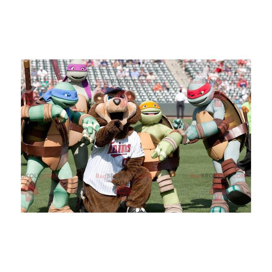 Slavní maskoti Ninja želvy - Redbrokoly.com