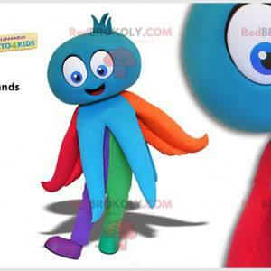 Maskot barevné chobotnice. Maskot chobotnice - Redbrokoly.com