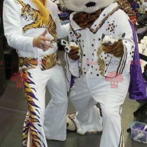 Tiger mascot dressed as Elvis - Redbrokoly.com