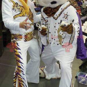 Tiger Maskottchen als Elvis verkleidet - Redbrokoly.com