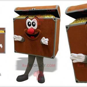 Mascot treasure chest. Pirate Chest - Redbrokoly.com