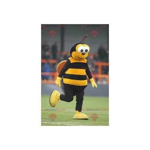 Maskottchen der gelben und schwarzen Biene - Redbrokoly.com