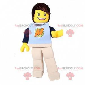 Lego maskot žlutá hračka Playmobil - Redbrokoly.com