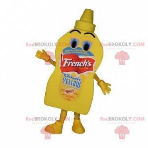 Maskot obří žluté omáčky majonézy - Redbrokoly.com