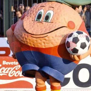 Giant orange mascot - Redbrokoly.com