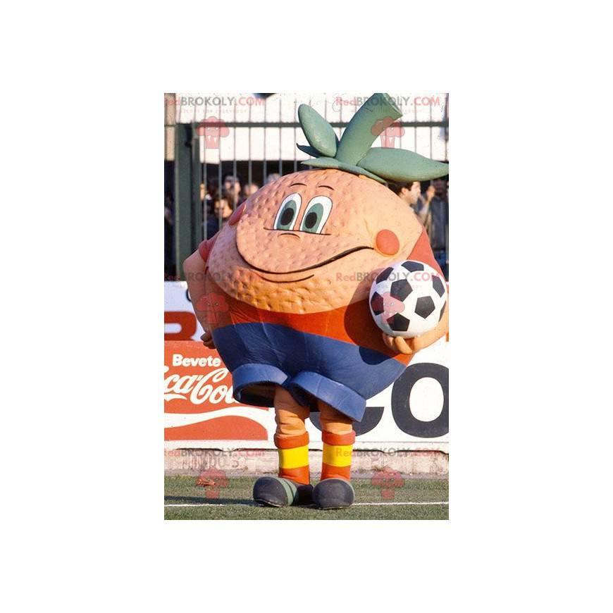 Riesiges orange Maskottchen - Redbrokoly.com
