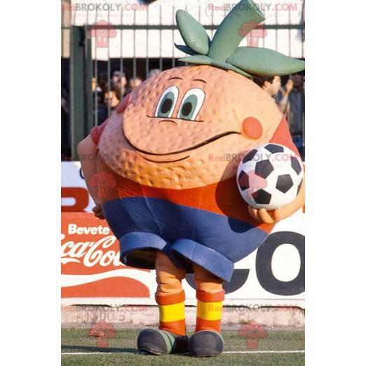 Obří oranžový maskot - Redbrokoly.com