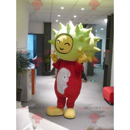 Kaštanový rohatý meloun maskot - Redbrokoly.com