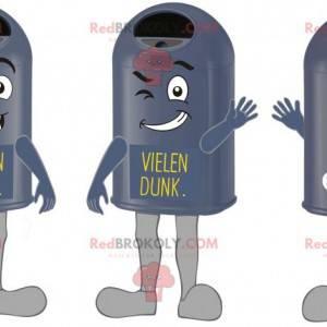 Maskoti obří a vtipné černé odpadkové koše - Redbrokoly.com