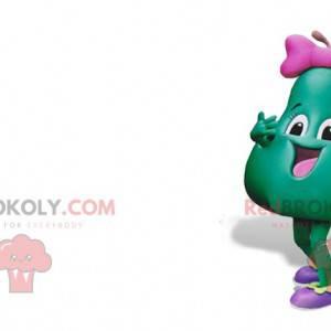 2 maskoti, jablko a zelená hruška. 2 ovoce - Redbrokoly.com