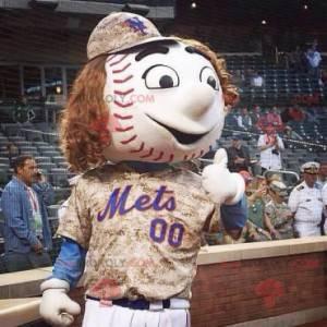 Gigantyczna maskotka baseballowa - Redbrokoly.com