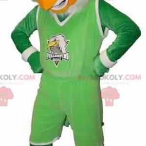 Sup maskot orel ve sportovním oblečení - Redbrokoly.com