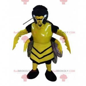 Straszna żółto-czarna maskotka szerszenia osy - Redbrokoly.com