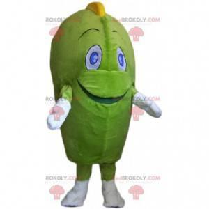 Gigantyczna maskotka potwora zielonego człowieka warzyw -