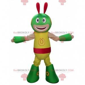 Colorful creature alien alien mascot - Redbrokoly.com