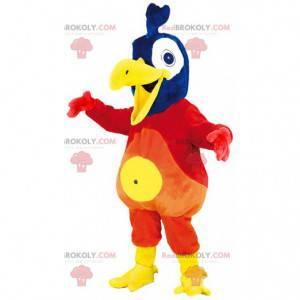 Velmi barevný ptačí maskot. Maskot papoušek - Redbrokoly.com