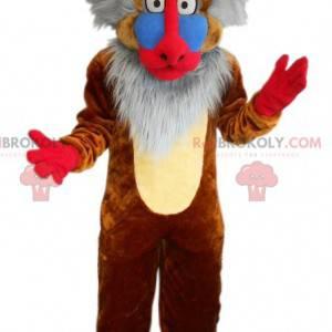 Rafiki maskot berømte tegneserie ape løve kongen -