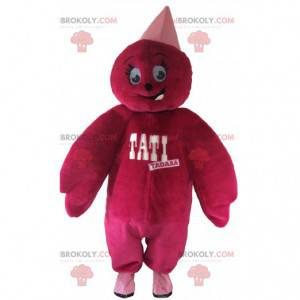 Tati pink plush doll mascot. Tati mascot - Redbrokoly.com