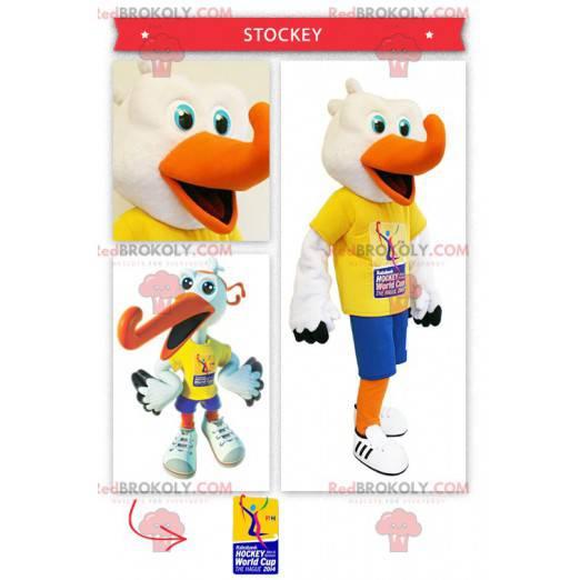 Hockey-Anhänger Storch Maskottchen - Redbrokoly.com
