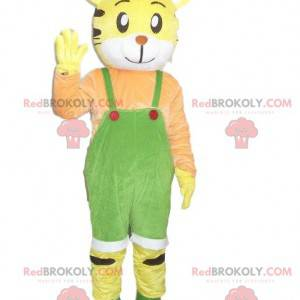 Maskotka żółty tygrys. Kostium tygrysa. kostium tygrysa -