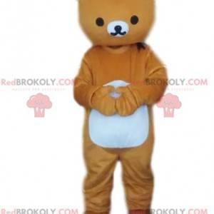 Brown bear mascot, teddy bear costume, bear costume -
