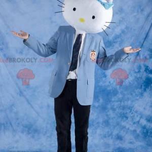 Mascota de cabeza de gato Hello Kitty - Redbrokoly.com