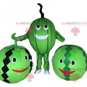 Watermelon costume mascot. Watermelon disguise costume -