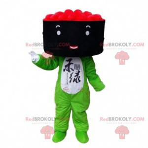 Sushi Maki Kostüm Maskottchen. Japanisches Essenskostüm -