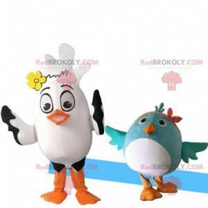 2 mascots bird costumes. Bird costumes - Redbrokoly.com