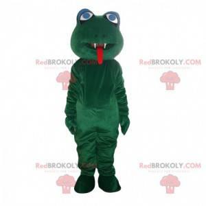 Frosch Kostüm Maskottchen. Frosch, Krötenkostüm - Redbrokoly.com
