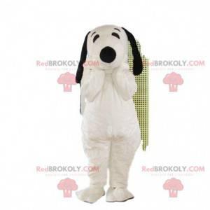 Cosotume Snoopy, mascote do Snoopy, fantasia de cachorro famosa