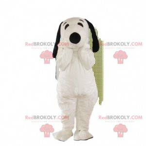 Cosotume Snoopy, mascotte Snoopy, beroemd hondenkostuum uit het