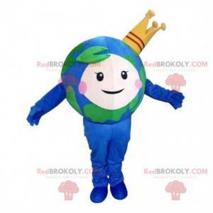 Planet Erde Maskottchen, Erdkostüm, Erdkugel Kostüm -